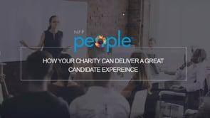 How Your Charity Can Deliver A Great Candidate Experience