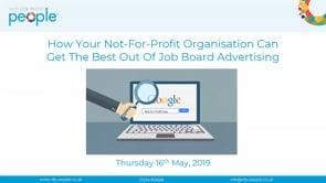 How Your Not For Profit Organisation Can Get The Best Out Of Job Board Advertising