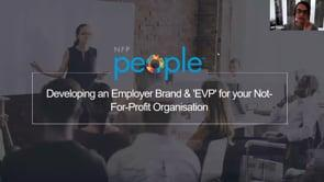 Developing An Employer Brand & 'evp' For Your Not For Profit Organisation
