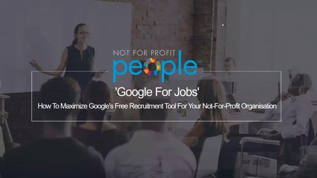'google For Jobs' – How To Maximize Google's Free Recruitment Tool For You
